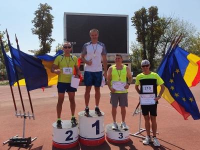 Medalii câștigate de atleții din Brașov la CN Masters