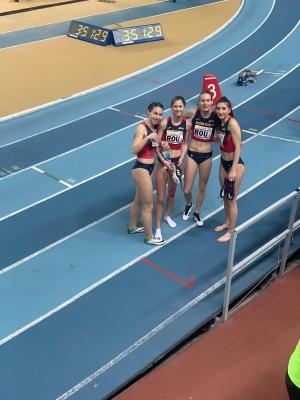 Adina Cîrciogel, medaliată cu bronz la Campionatele Balcanice pentru juniori indoor