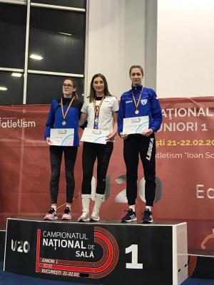 O medalie de aur și una de argint pentru atleții brașoveni la Campionatul Național de juniori 1