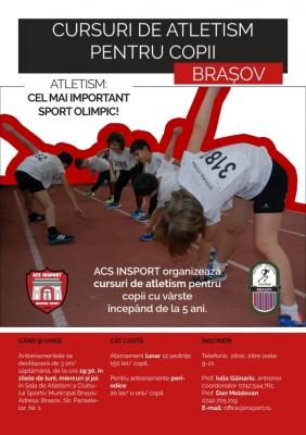 Cursuri de atletism pentru copii la Brașov