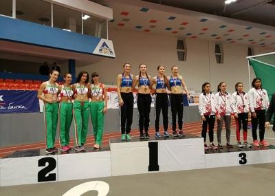 Adina Cîrciogel, campioană balcanică la 4X400