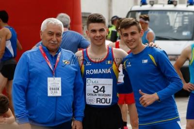 Cătălin Tecuceanu (CSM Brașov), pe locul 2 la Odrezo (Italia)