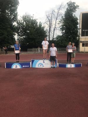 Adina Cîrciogel, campioană a României la 400 metri