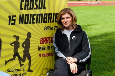 Paula Ivan, ambasador al Crosului 15 Noiembrie